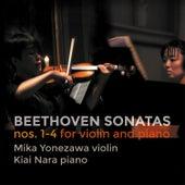 Beethoven: Violin Sonatas Nos. 1-3, Op. 12 & 4, Op. 23 de Mika Yonezawa