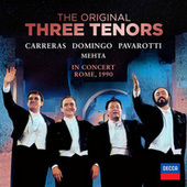 The Three Tenors - In Concert, Rome 1990 (And Selected Highlights) by The Three Tenors