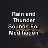 Rain and Thunder Sounds For Meditiation von Relaxing Sounds of Nature
