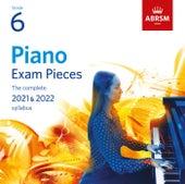 Piano Exam Pieces 2021 & 2022, ABRSM Grade 6 von Various Artists