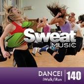 iSweat Fitness Music, Vol. 140: Dance! (128 BPM for Running, Walking, Elliptical, Treadmill, Fitness) de The Jagged Edges