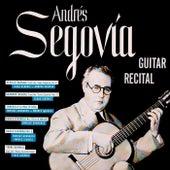 Guitar Recital de Andrés Segovia