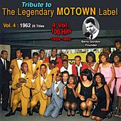 Tribute to Motown Legendary Label (Vol. 4 : 1962) by Bob Kayli, Don McKenzie, Mickey Woods, The Twistin Kings, Marvin Gaye, The Supremes, Mary Wells, The Marvelettes, The Temptations, Little Steevie Wonder, The Miracles, The Contours, Eddie Holland