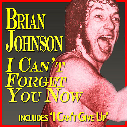 I Can't Forget You Now by Brian Johnson
