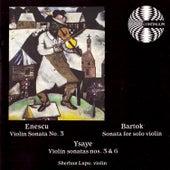 Enescu Bartok Ysaye by Sherban Lupu