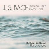 J.S. Bach Partitas 1, 2 & 4 de Michael Peterson