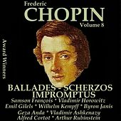 Chopin, Vol. 8 : Ballades, Scherzos & Impromptus (Award Winners) de Various Artists