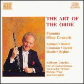 The Art Of The Oboe - Famous Oboe Concerti by Anthony Camden