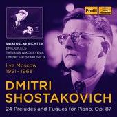 Shostakovich: 24 Preludes & Fugues for Piano, Op. 87 de Emil Gilels