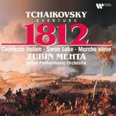 Tchaikovsky: 1812 Overture, Capriccio italien & Excerpts from Swan Lake di Zubin Mehta