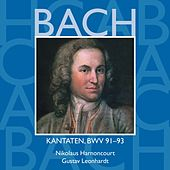Bach, JS : Sacred Cantatas BWV Nos 91 - 93 von Various Artists