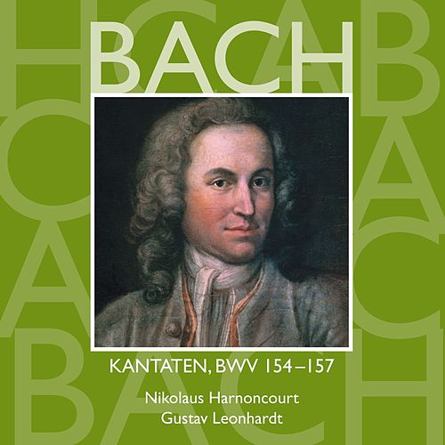Bach, JS : Sacred Cantatas BWV Nos 154 - 157 by Various Artists