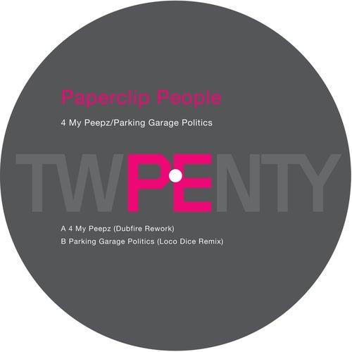 PE 20 Remixes - 4 My Peepz/Parking Garage Politics by Paperclip People