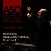 Sibelius: Lemminkäinen's Return, Op. 22, No. 4 by American Symphony Orchestra