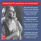 Strauss & Wagner: Opera Works (Live) by Kirsten Flagstad