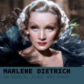 Marlene Dietrich, on Sreen by Marlene Dietrich