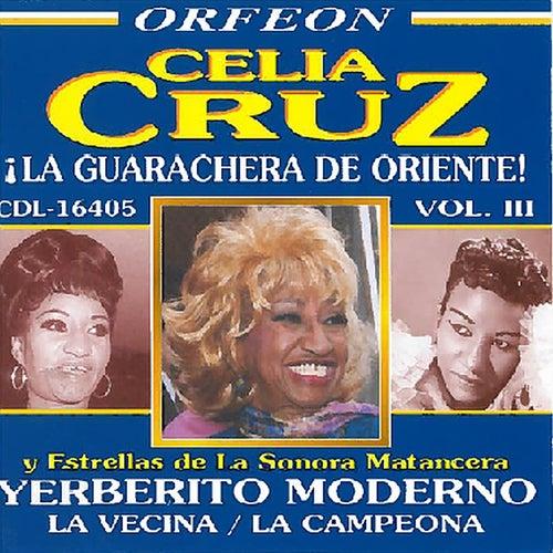 La Guarachera de Oriente, Vol. 3 by Celia Cruz