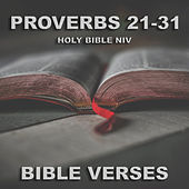Holy Bible N.I.V. Proverbs 21 -31 de Bible Verses