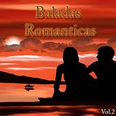 Baladas Romanticas, Vol. 2 de Fred Bongusto, Percy Sledge, Lutricia McNeal, Franck Alamo, Domenico Modugno, Gladys Knight, Bread, Lou Rawls, The Shirelles, Cesar, Hurricane Smith, Teen Boys, Iva Zanicchi, Gene Chandler, Little Anthony