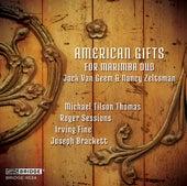 American Gifts for Marimba Duo de Jack Van Geem
