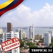 Made In Colombia: Tropical, Vol. 34 de Varios Artistas