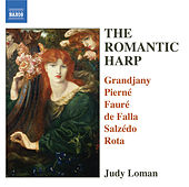 The Romantic Harp by Judy Loman
