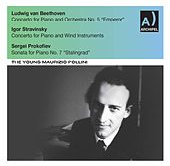 Beethoven, Stravinsky & Prokofiev: Piano Works (Live) von Maurizio Pollini