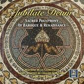 Jubilate Deum: Sacred Polyphony of Baroque & Renaissance by Maitrise de la Cathédrale Saint Vincent de Chalon sur Saône