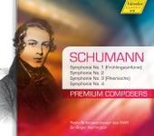 Schumann: Symphonies Nos. 1-4 von Roger Norrington