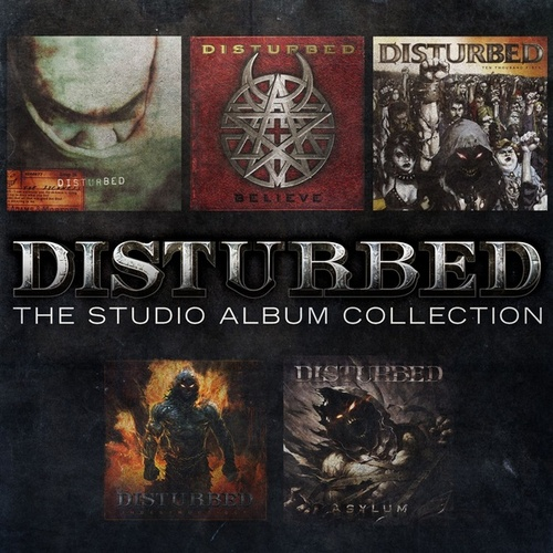The Studio Album Collection by Disturbed