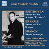 Beethoven / Brahms / Franck: Violin Sonatas (Heifetz) (1937-1951) by Jascha Heifetz