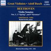 Beethoven: Violin Sonatas (Busch) (1931-1941) von Adolf Busch