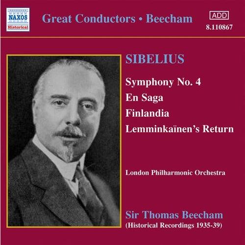Sibelius: Symphony No. 4 / En Saga (Beecham) (1935-1939) by Thomas Beecham