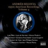 Segovia, Andres: 1950S American Recordings, Vol. 4 de Andres Segovia