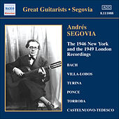 Segovia, Andres: 1946 New York and the 1949 London Recordings (The) de Andres Segovia