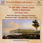 Italian Popular Songs, Vol.  1 (1930-1950) von Various Artists