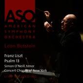 Liszt: Psalm 13 by American Symphony Orchestra