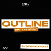 Outline (feat. Julie Bergan) (AJ Moreno Remix) by Crazy Cousinz