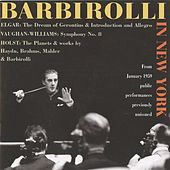 Barbirolli in New York (1959) by Various Artists