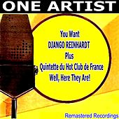 You Want, Django Reinhardt, Plus Quintette du Hot Club de France, Well, Here They Are! de Django Reinhardt
