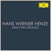 Hans Werner Henze Great Recordings von Hans Werner Henze