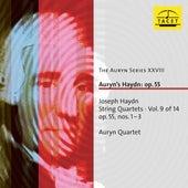 Haydn: String Quartets, Vol.  9 von Auryn-Quartet