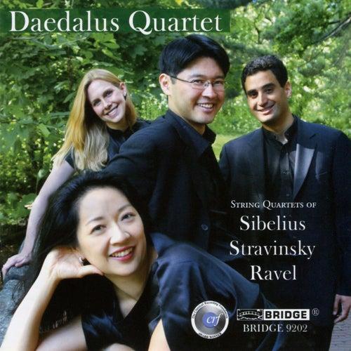 String Quartets of Sibelius, Stravinsky and Ravel by Daedalus Quartet