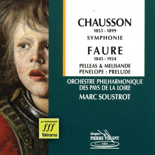 Chausson  Fauré : Symphonie by Marc Soustrot Orchestre Philharmonique des Pays de la Loire