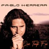 Que Tonto Fui de Pablo Herrera
