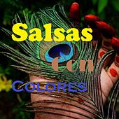 Salsa Con Colores by Raulin Rosendo, Chamaco Ramirez, Frankie Ruiz, Gilberto Santa Rosa, Hector Pichy Perez, Hector Tricoche, Junior Paquito Acosta, la sonora carruseles