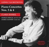Ludwig van Beethoven Piano Concertos No. 3 and 4 von Clara Haskil