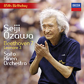 Beethoven: Leonore Overture No. 3; Symphony No. 7 by Saito Kinen Orchestra