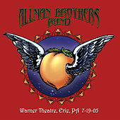 Warner Theatre, Erie, PA 7-19-05 (Live) van The Allman Brothers Band