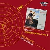 Schubert: Symphonies Nos. 3 & 4 von Wiener Philharmoniker